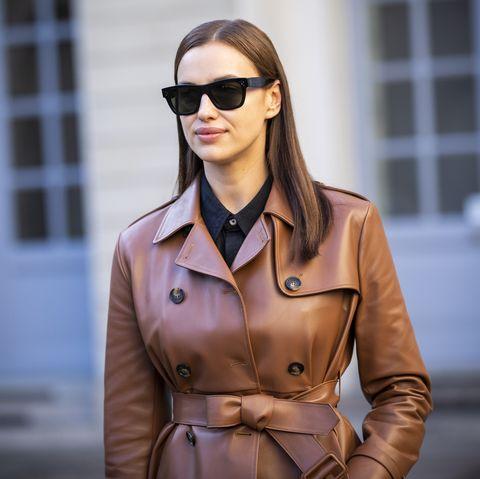 Eyewear, Trench coat, Street fashion, Clothing, Coat, Sunglasses, Fashion, Beauty, Outerwear, Fashion model,