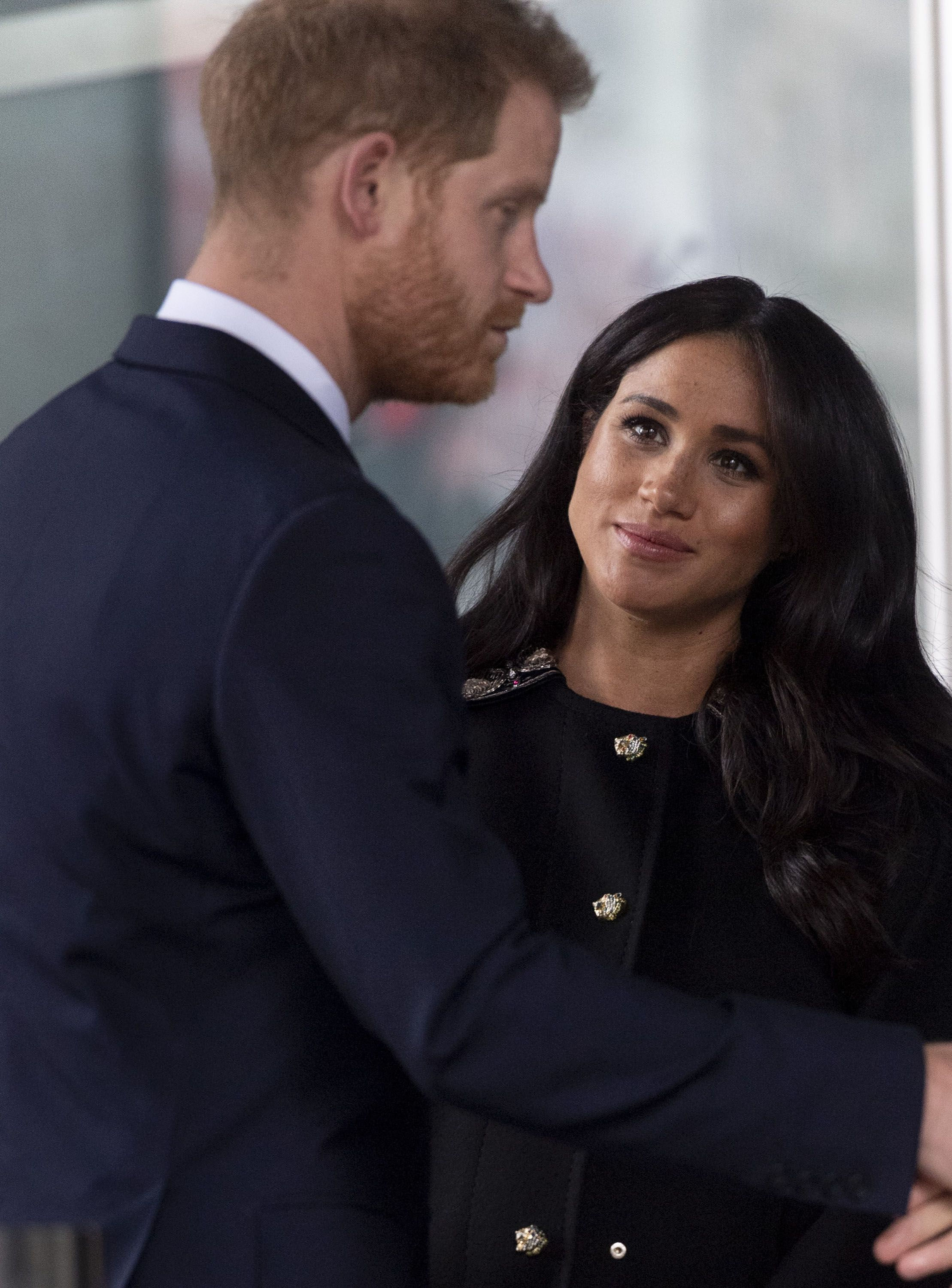 Prince Harry's Surprise Appearance Today Is a Huge Clue to Meghan Markle's Due Date