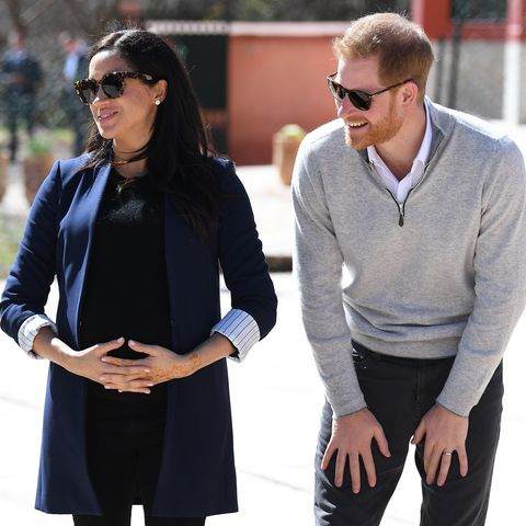 Why everyone thinks Meghan Markle went into labour yesterday afternoon