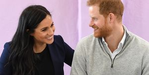 Watch Prince Harry joke that Meghan Markle's baby isn't his