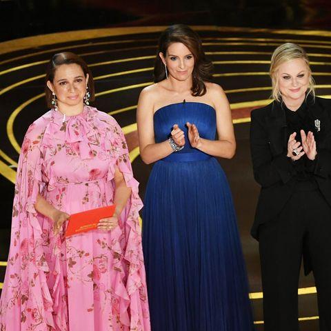 Maya Rudolph, Tina Fey, and Amy Poehler at the Oscars 2019