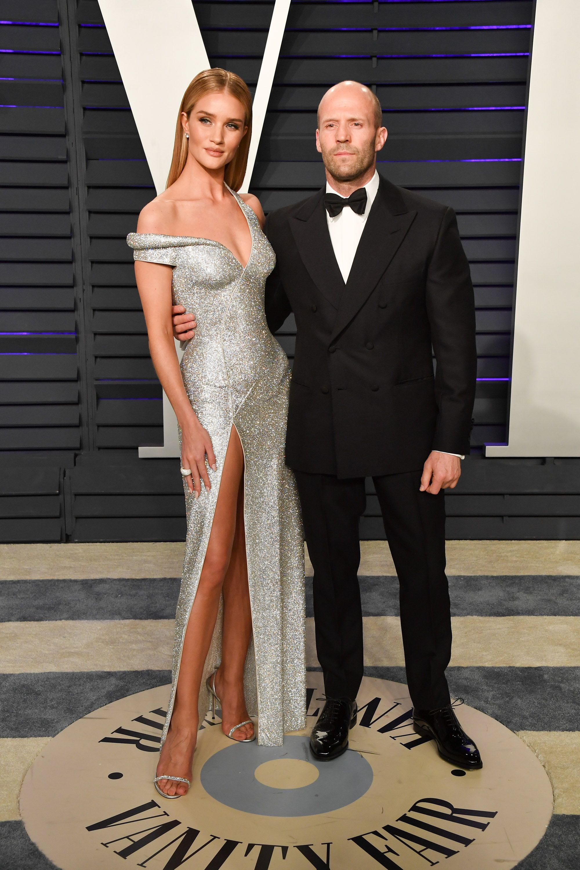 Rosie Huntington Whiteley & Jason Statham at The Oscars 2019 Vanity
