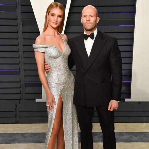 ee0d1c2d15 Rosie Huntington Whiteley   Jason Statham at The Oscars 2019 Vanity ...
