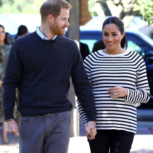 Pangeran Harry mengurangi pekerjaannya demi menemani Meghan Markle yang akan segera lahiran (dok. Elle)
