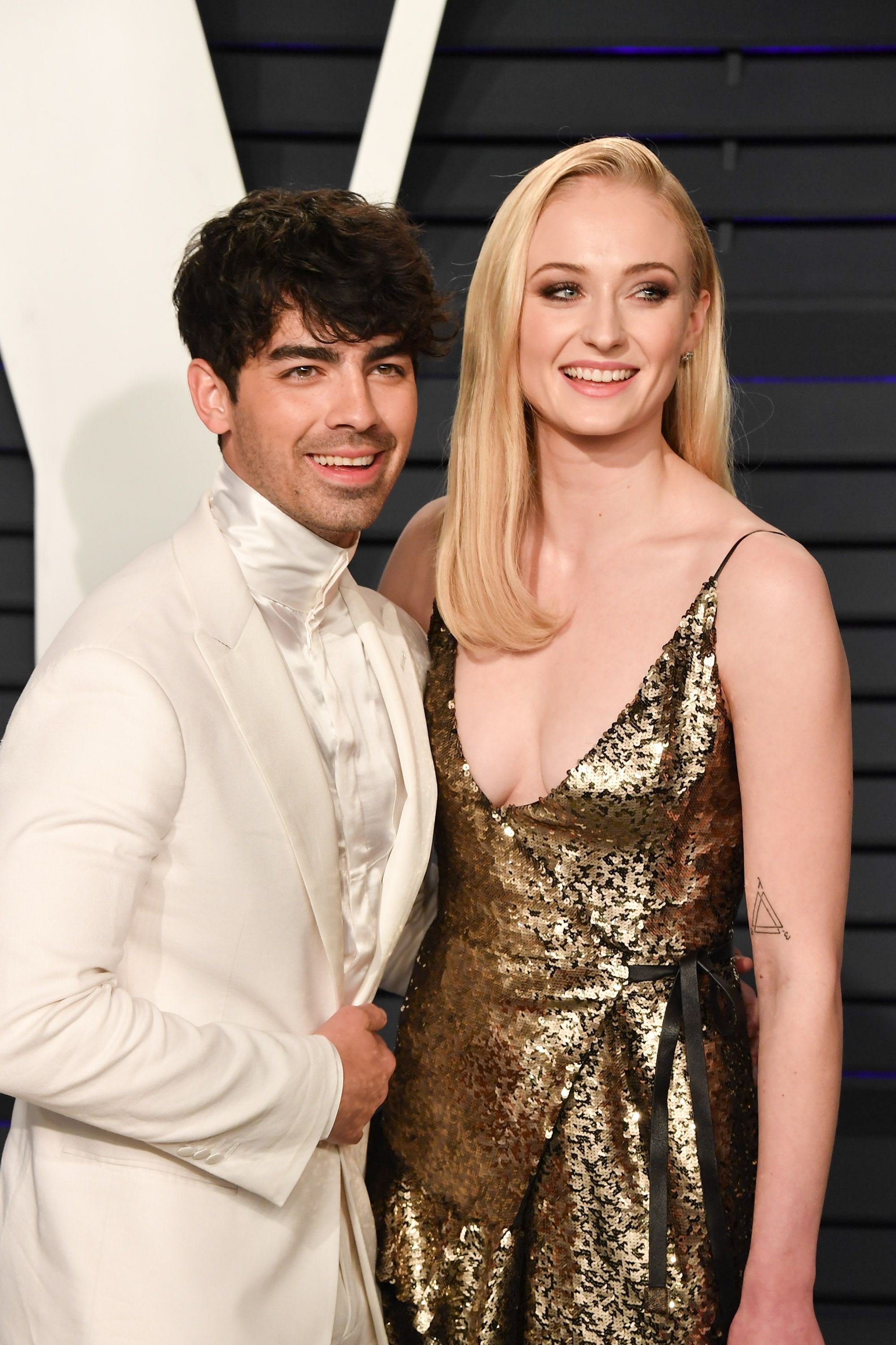 Sophie Turner (Sansa Stark) and Joe Jonas According to the couple, their upcoming summer 2019 wedding will involve flag football and rugby. Can't wait for those wedding photos!