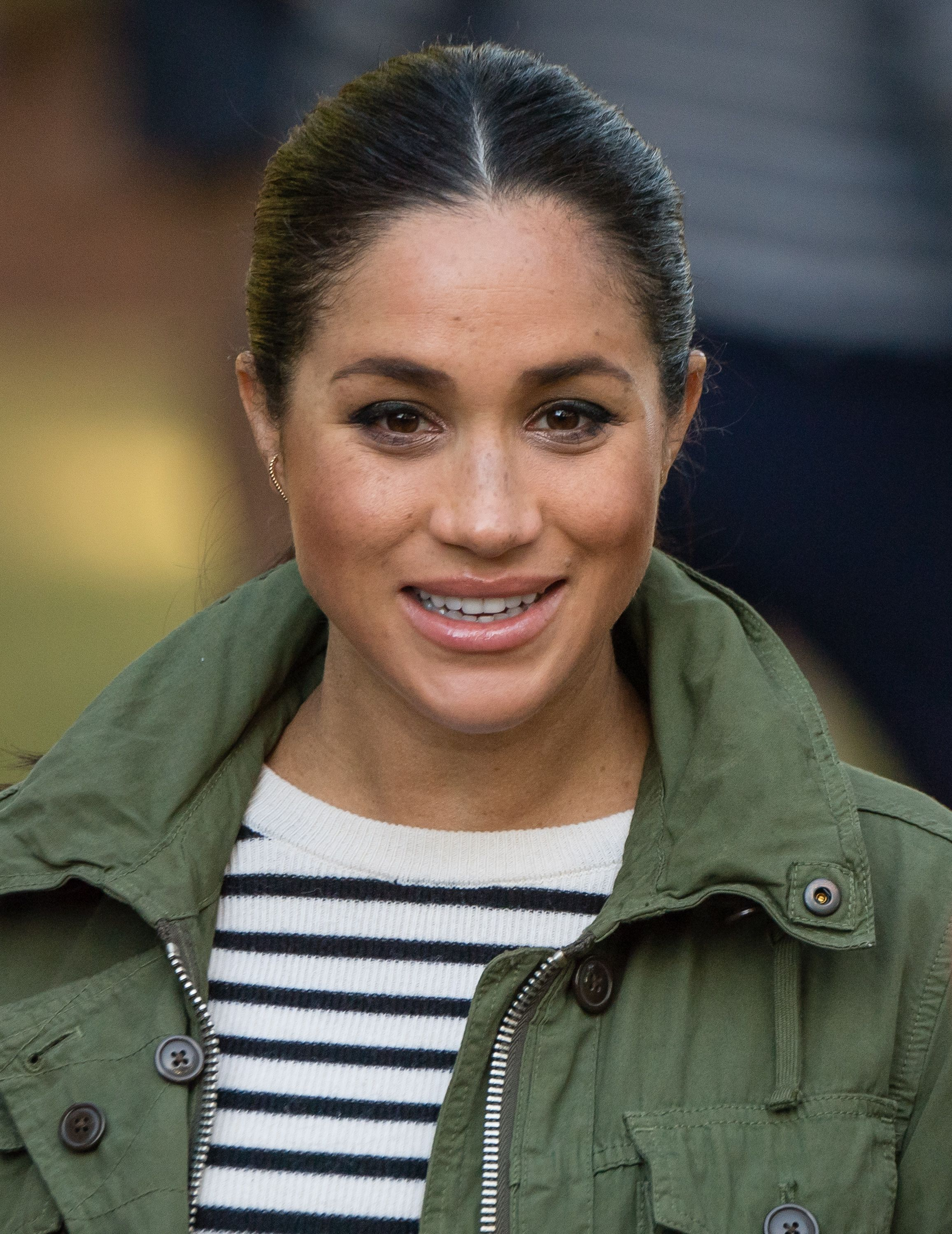 Never-Before-Seen Footage of Meghan Markle Proves She's Loved This Men's Jacket for Years