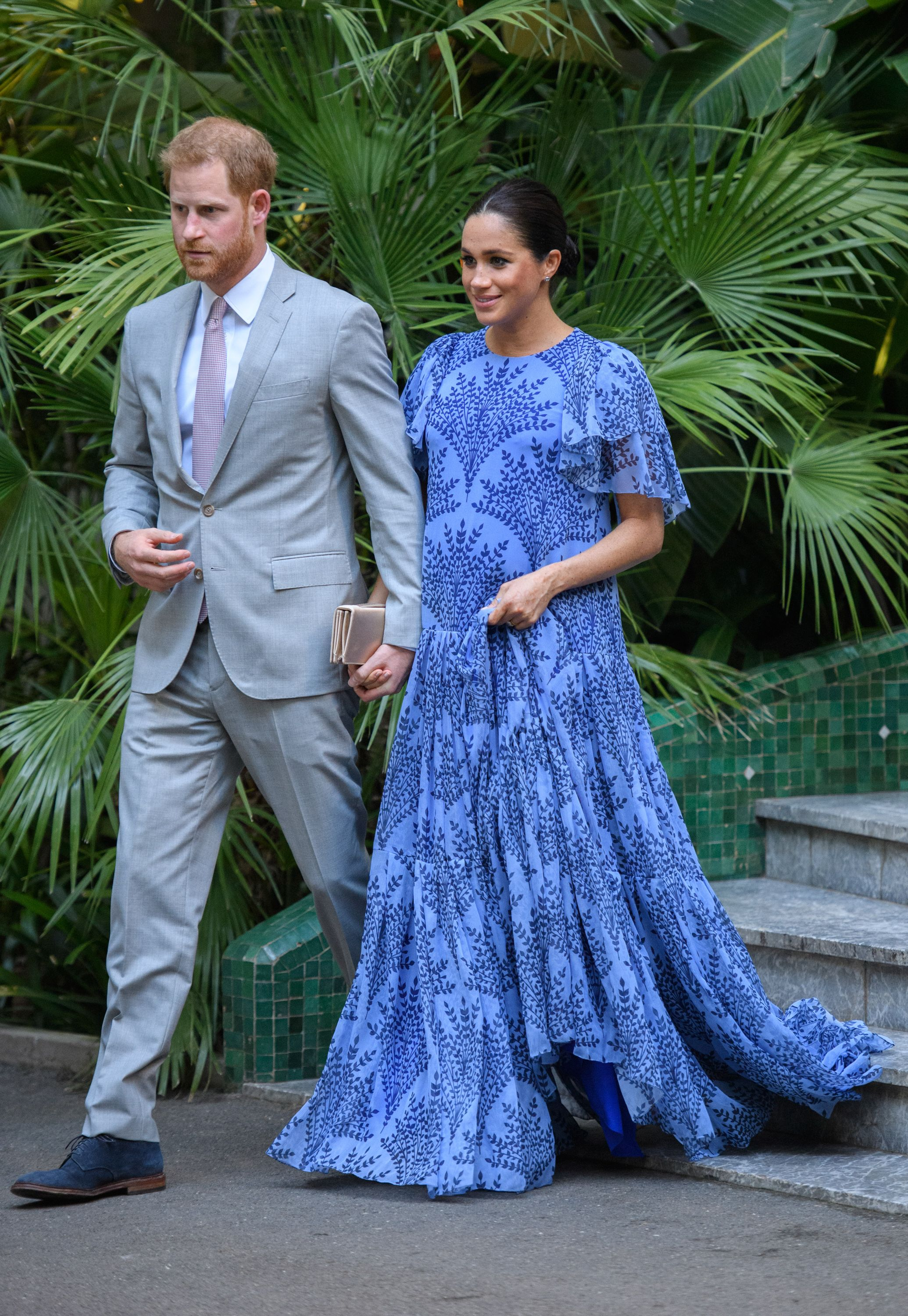 e1aa7a14c80 Meghan Markle In Morocco  Every Outfit The Pregnant Duchess Is Wearing  During Her Royal Visit