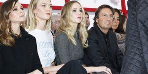 Christian Dior : Front Row - Paris Fashion Week Womenswear Fall/Winter 2019/2020