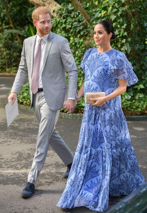 英國皇室:哈利王子與梅跟王妃的情侶穿搭
