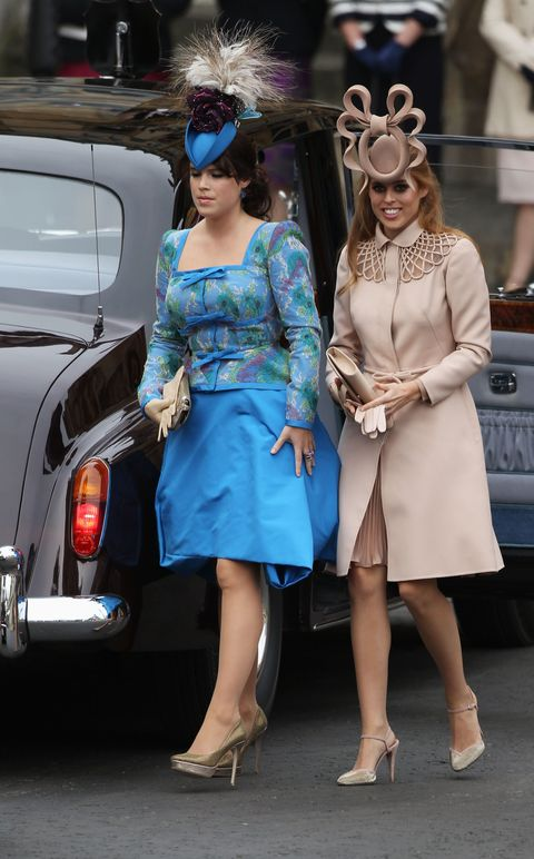 Princesses Eugenie And Beatrice S Royal Wedding Hats A Look Back