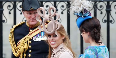 Princesses Eugenie And Beatrices Royal Wedding Hats