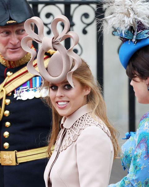 075b5dd9731 Princesses Eugenie and Beatrice s Royal Wedding Hats - A Look Back ...