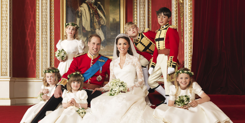 Kate Middleton Wedding day
