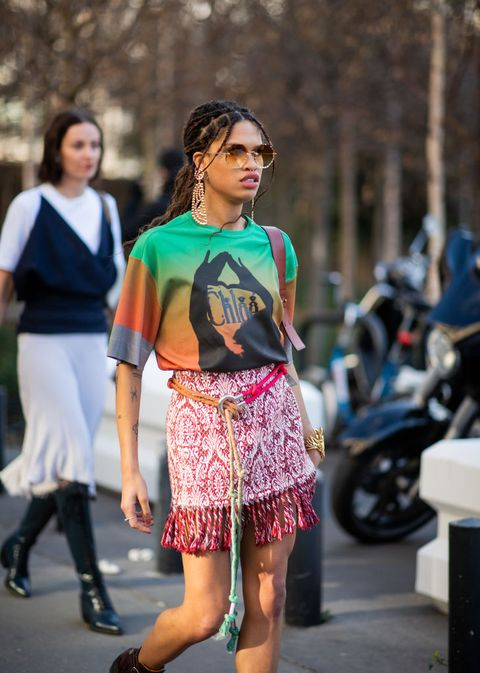 Street fashion, Fashion, Clothing, Fashion model, Footwear, Snapshot, Shorts, Leg, Shoulder, T-shirt,
