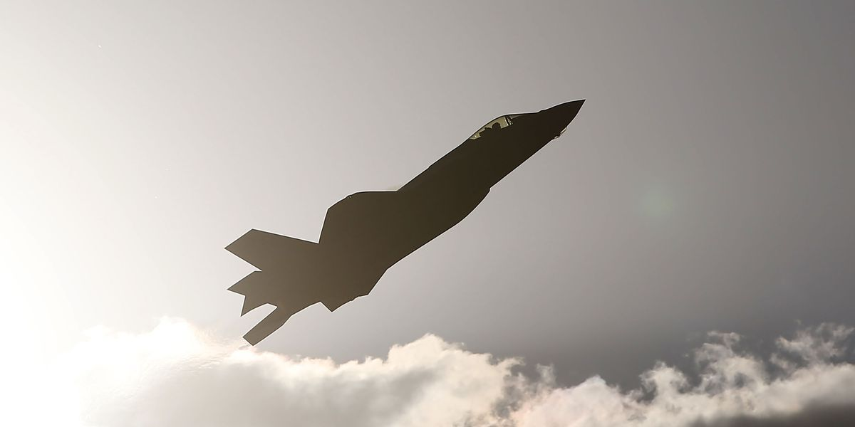 Japanese F 35a Jet Crashes Causing Grounding Of Fighter Planes