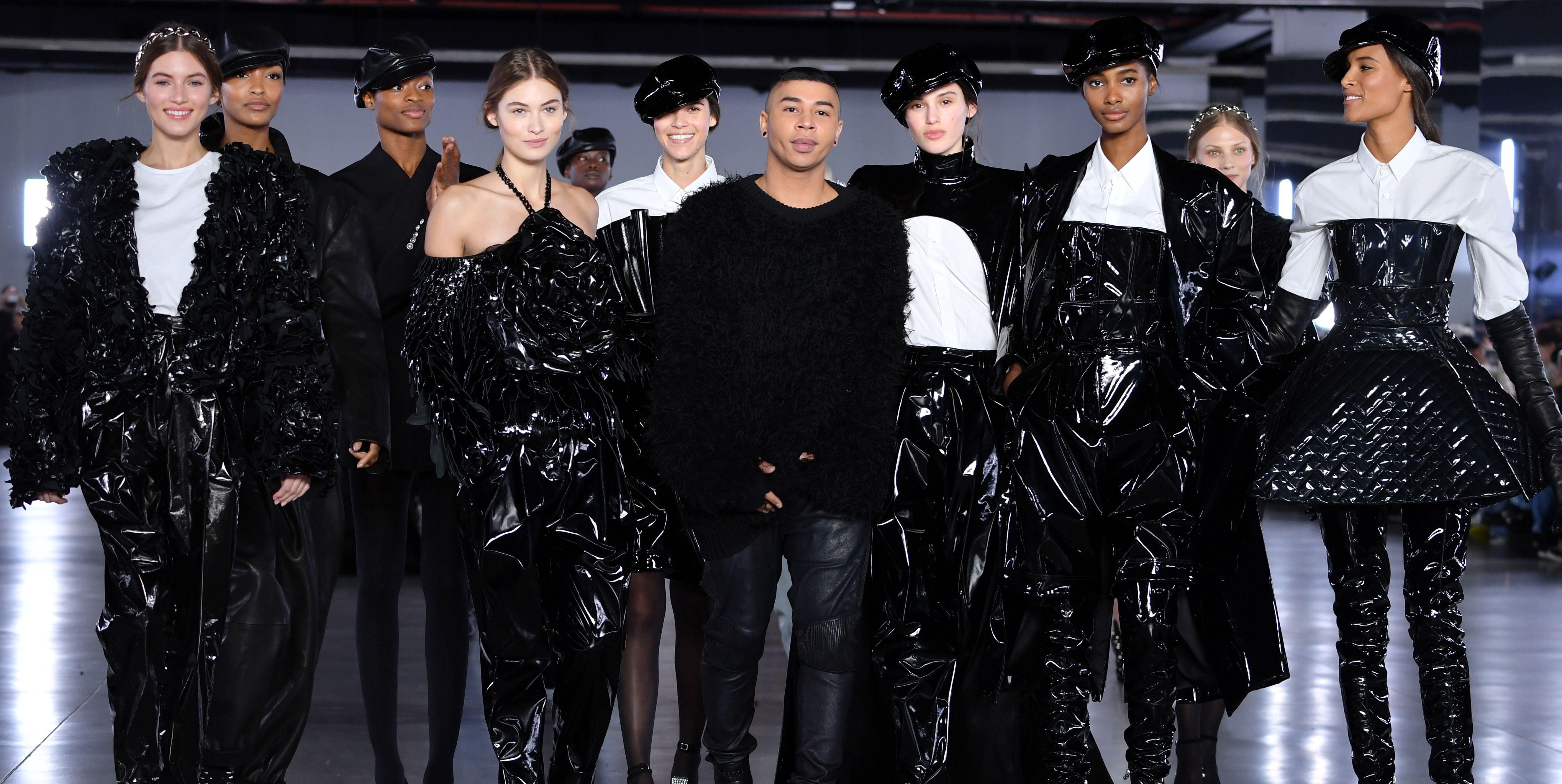 【巴黎時裝週】看完這一季 BALMAIN,你會想把所有漆皮、丹寧單品都買下來!還有這 12 顆鉚釘包!