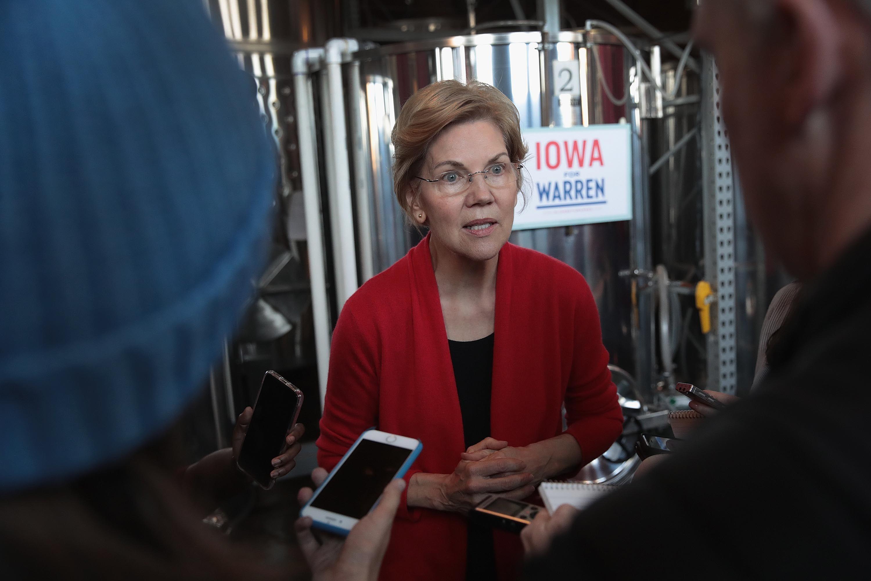Elizabeth Warren Calls to Break Up Amazon, Facebook, and Google