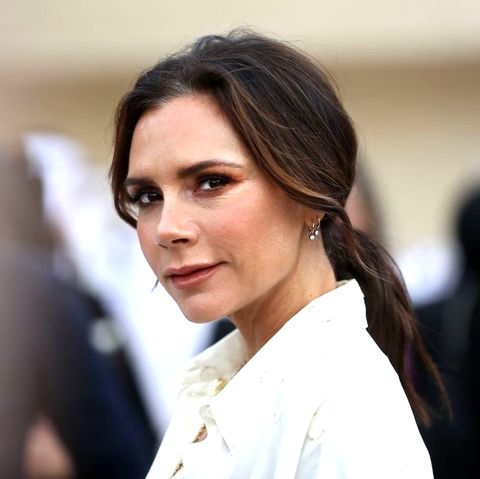 british singer and fashion designer victoria beckham attends the official opening ceremony for the national museum of qatar, in the capital doha on march 27, 2019   the complex architectural form of a desert rose, found in qatars arid desert regions, inspired the striking design of the new museum building, conceived by celebrity french architect jean nouvel photo by karim jaafar  afp        photo credit should read karim jaafarafp via getty images