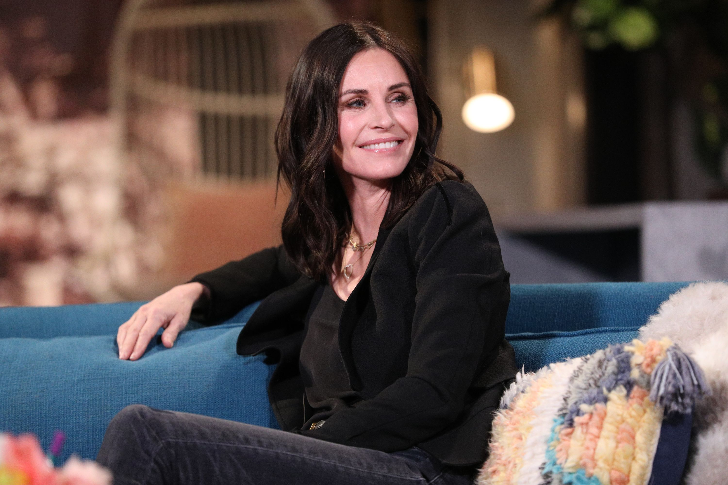 Courteney Cox Posted an Impressive Poolside Video on Instagram With a Tribute to Missy Elliott