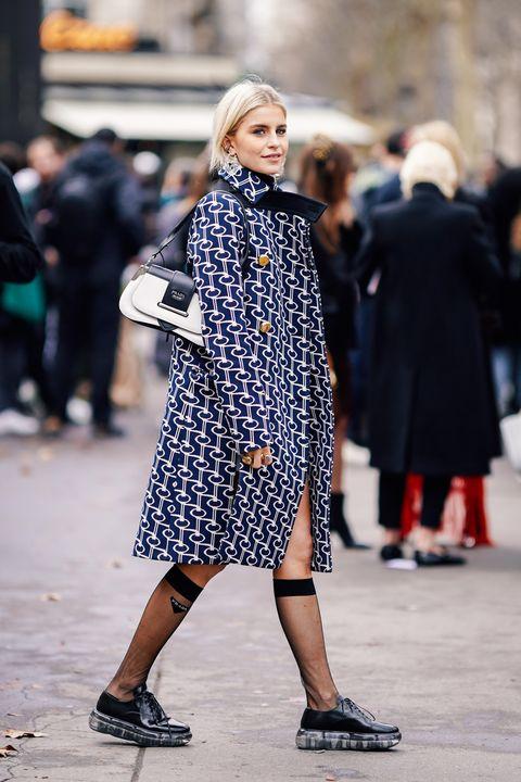 Street Style - Paris Fashion Week Womenswear Fall/Winter 2019/2020 : Day Six