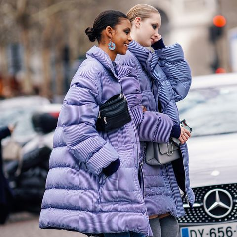 Street Style - Paris Fashion Week Womenswear Fall/Winter 2019/2020 : Day Six