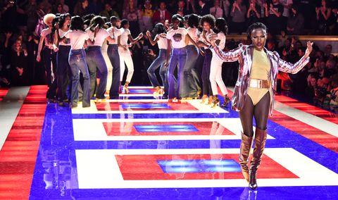9b5f49ab Zendaya Tommy Hilfiger Show All Black Model Cast - Zendaya #TommyNow ...