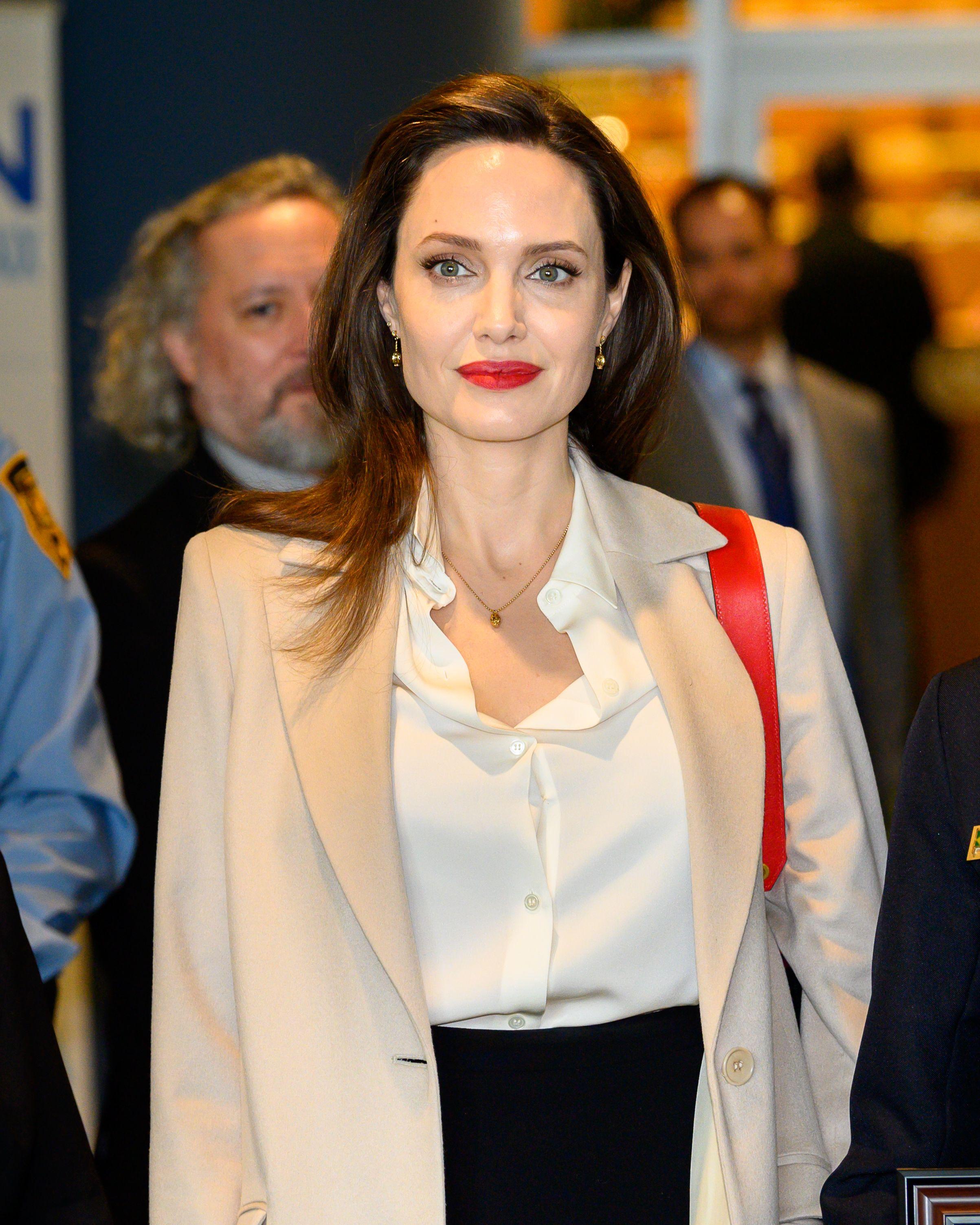 Angelina Jolie Celebrates Son Maddox Jolie-Pitt's 18th Birthday In Cleveland
