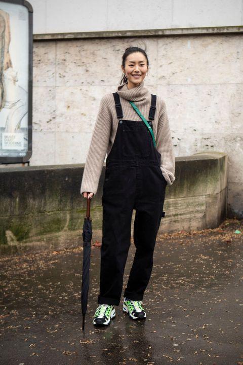 ways to wear overalls