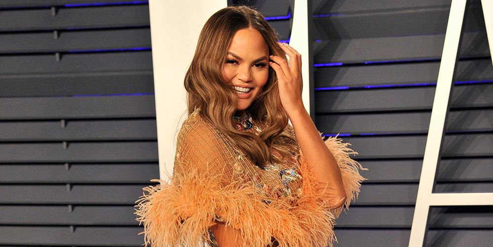 """Chrissy Teigen just got real about her """"new normal"""" post-baby weight"""