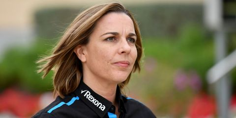 williams team principal claire williams arrives at the paddock ahead of the formula one bahrain grand prix at the sakhir circuit in the desert south of the bahraini capital manama, on march 31, 2019 photo by andrej isakovic  afp        photo credit should read andrej isakovicafp via getty images