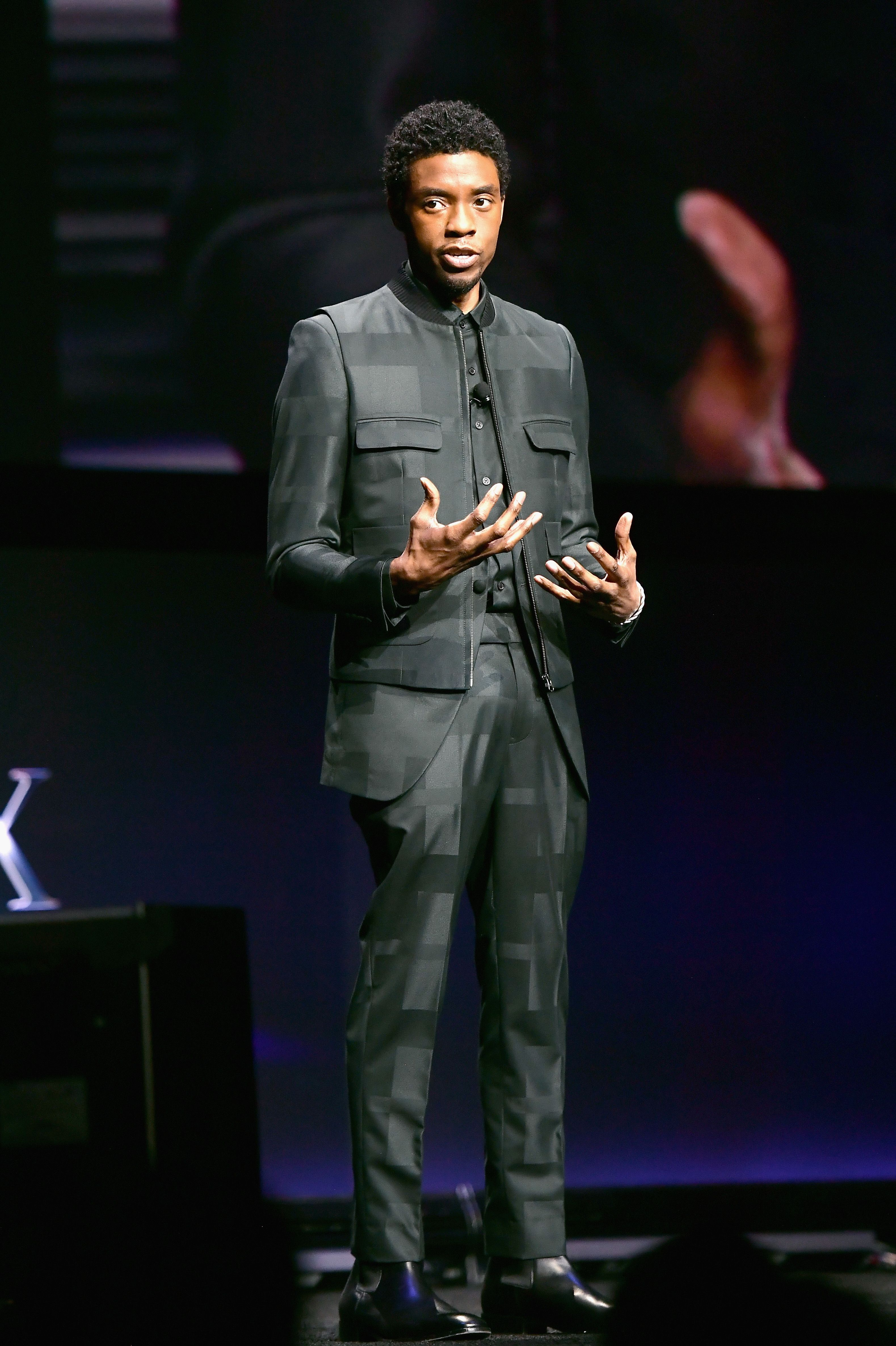 Chadwick Boseman Just Out-Dressed Every TED Talk Host Ever