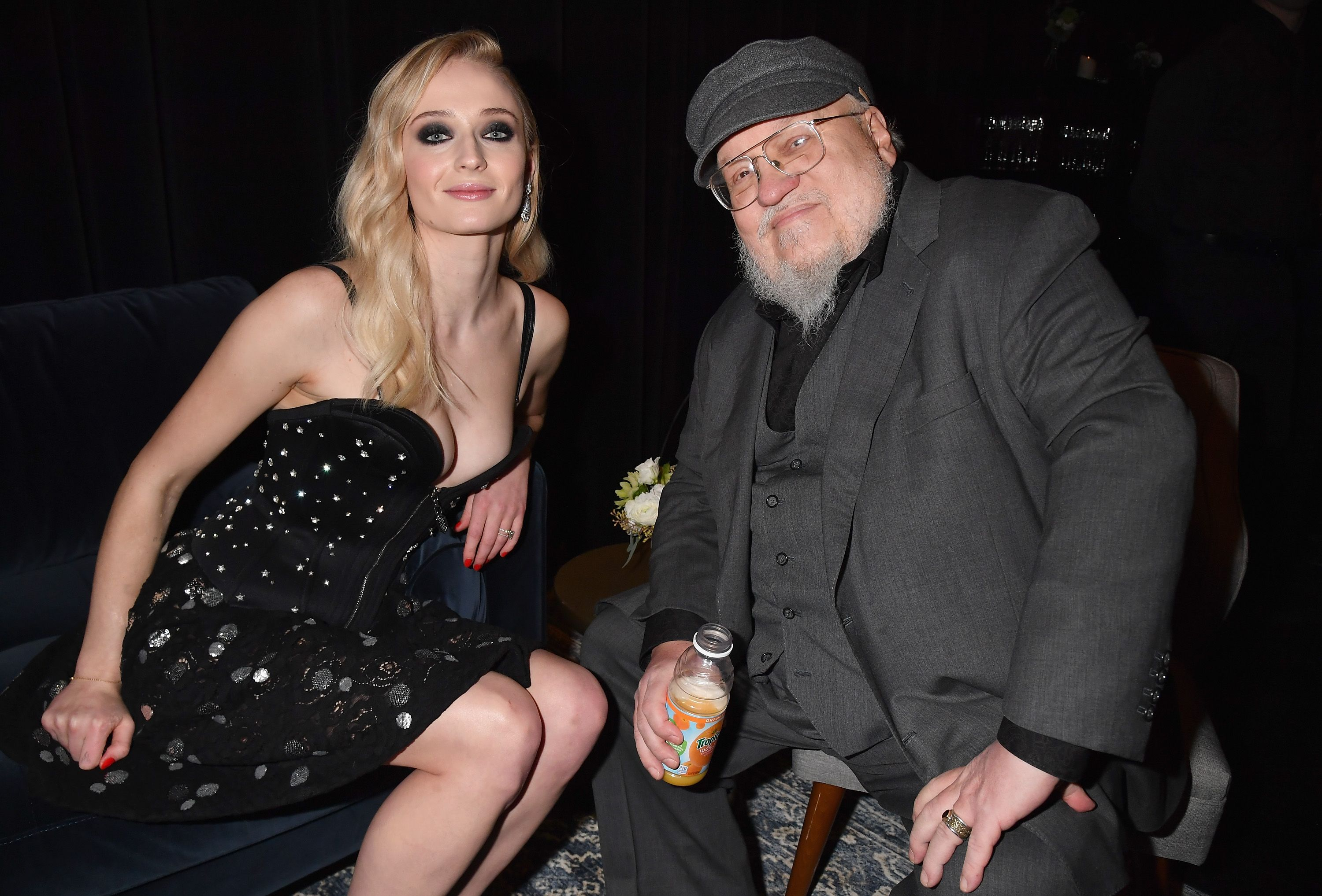 George R.R. Martin Teases the *Real* Ending of 'Game of Thrones' in Books