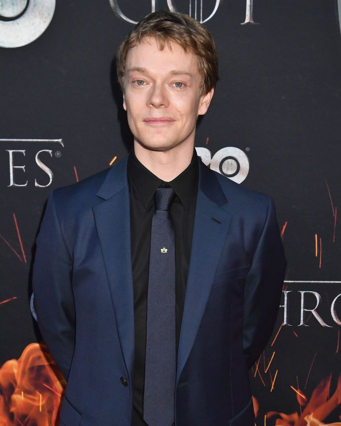 Alfie Allen (without beard) The shorter hair and cleaner look we think better suits Alfie.