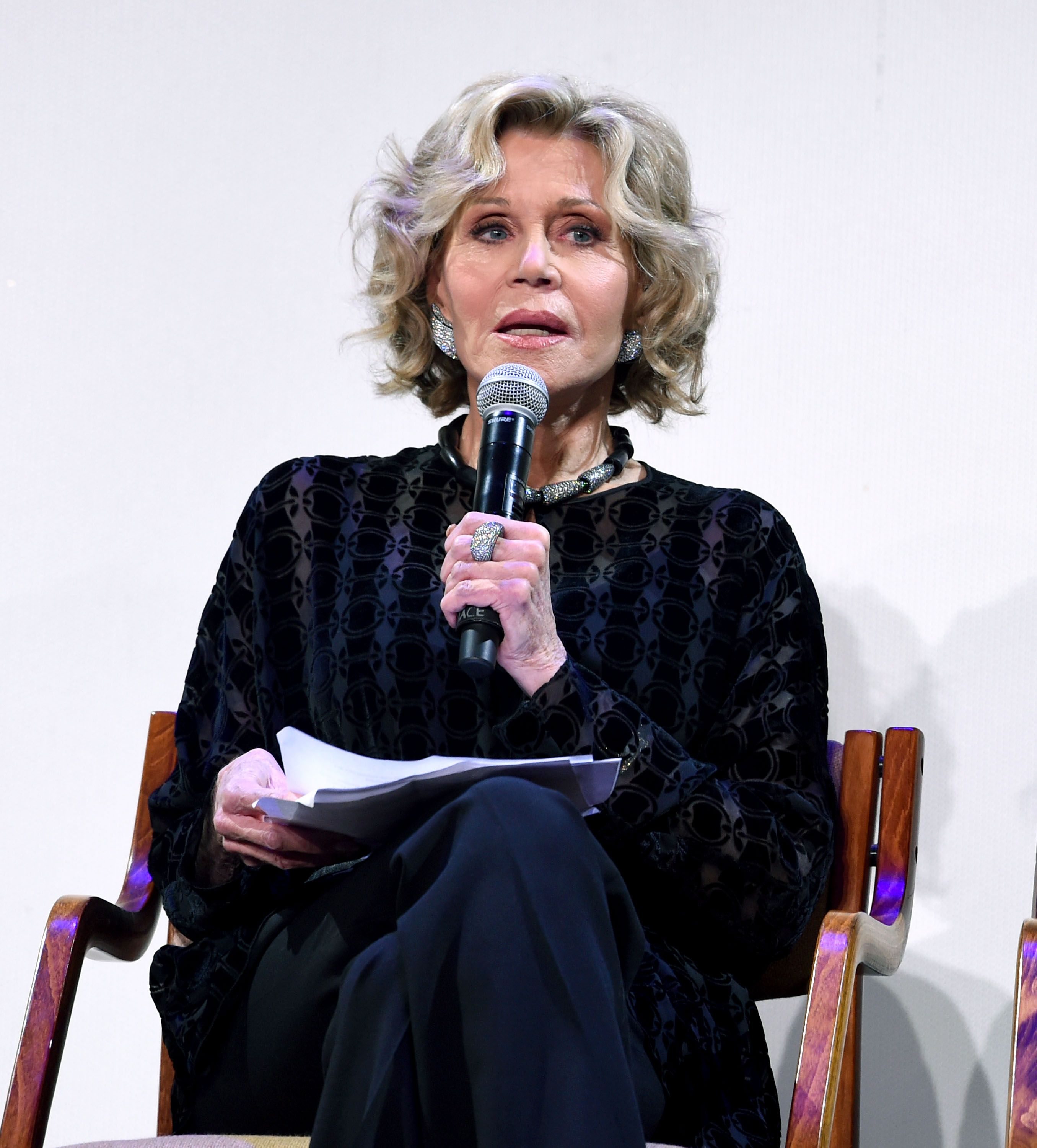 Jane Fonda Arrested While Protesting Climate Change at Capitol Building