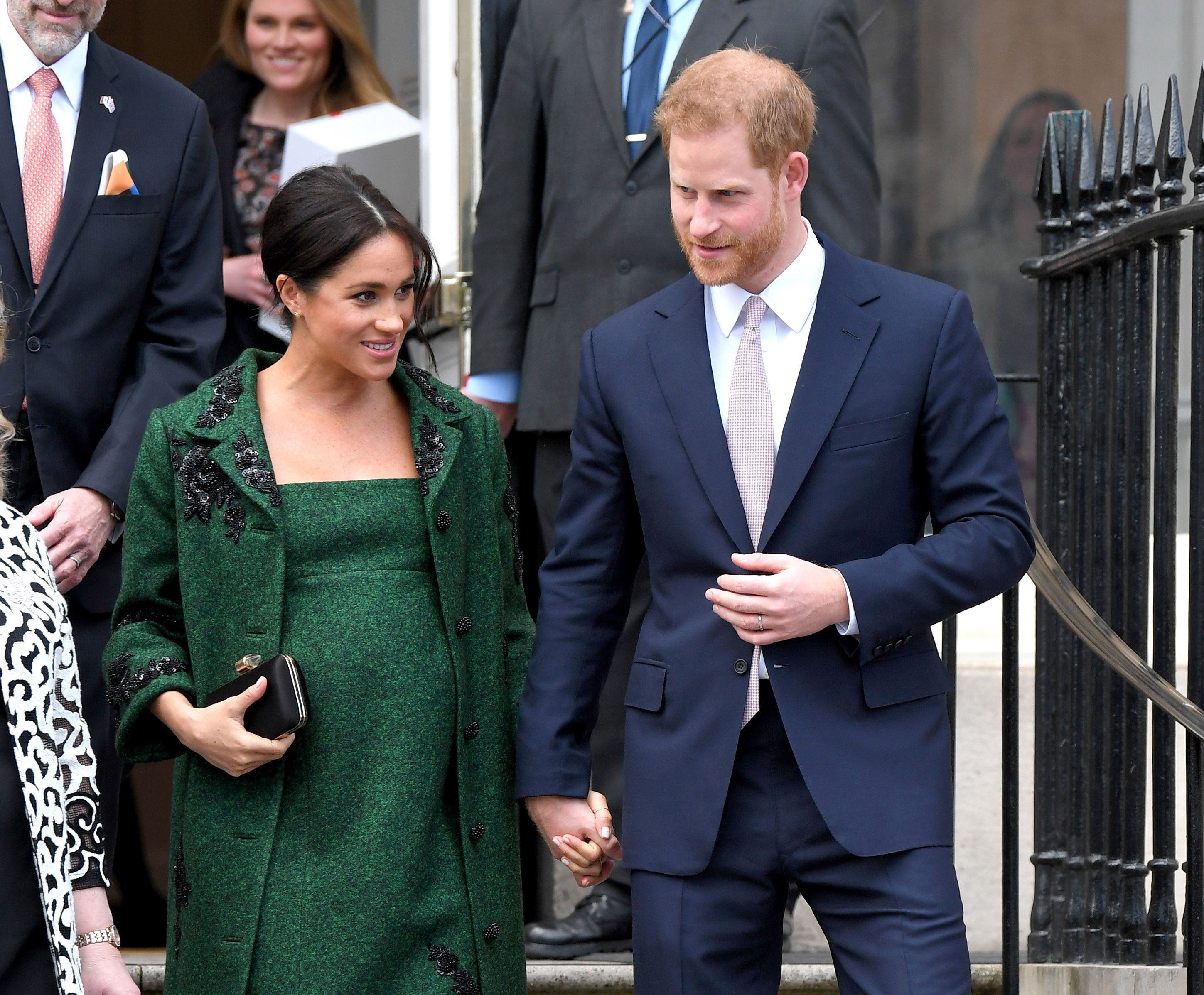 "Royal Staff Are Reportedly ""Grumpy"" with Meghan Markle and Prince Harry's Lavish Buckingham Palace Offices"