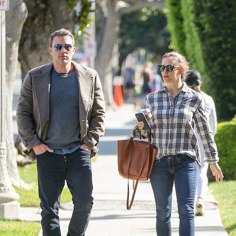 Jennifer Garner Celebrity Porn - Jennifer Garner and Ben Affleck Happily Co-Parent After ...
