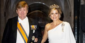 Dutch Royal Family Attends A Gala Diner For Corps Diplomatique At Royal Palace In Amsterdam