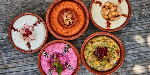 Food, Dish, Cuisine, Ingredient, Superfood, Meal, Side dish, Muhammara, Vegetarian food, Recipe,