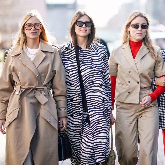 Fashion Week herfst/winter 2019 zebra