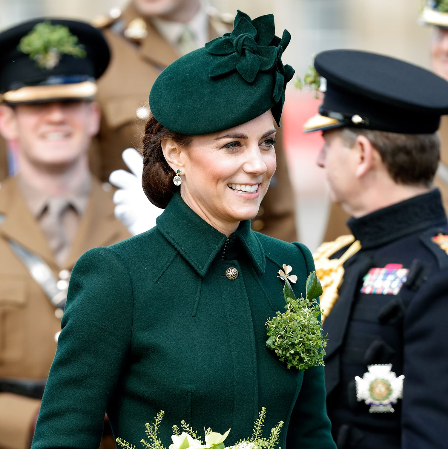 Kate Middleton Put an End to Pregnancy Rumors on Her St Patrick's Day Royal Appearance