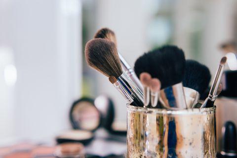 professional makeup brushes set and tools