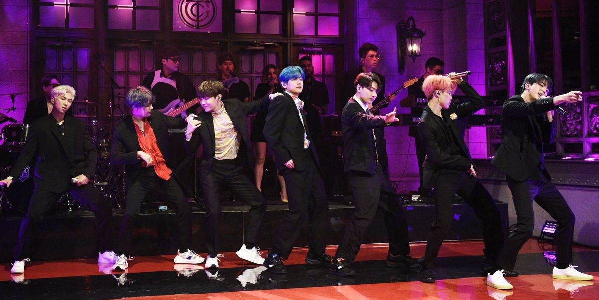 BTS Looked Incredible in Black Suits During Their History-Making SNL Performance