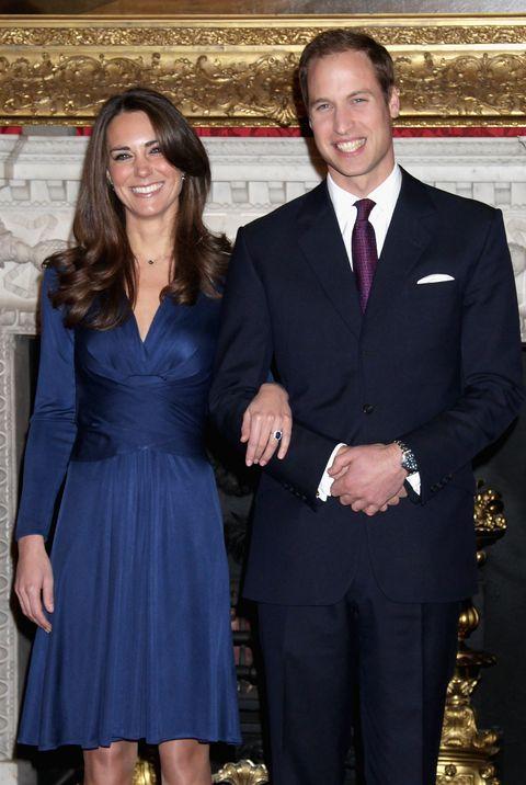 Royal Wedding Comparison - Engagement Photos