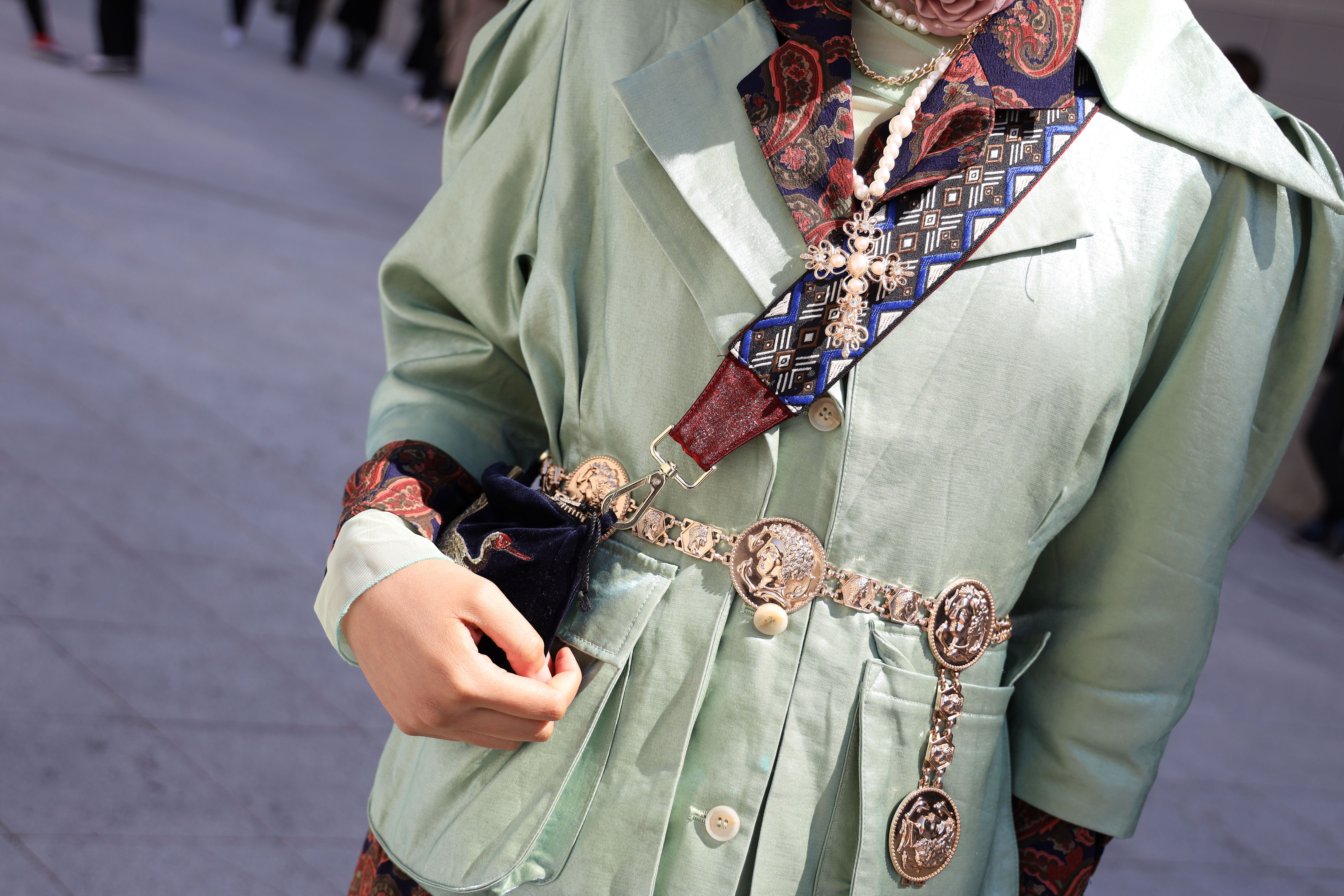Chain Belts Are Back To Keep Your Style On Lock This Summer