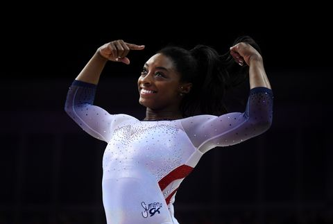 Simone Biles Does TheHandstand Challenge