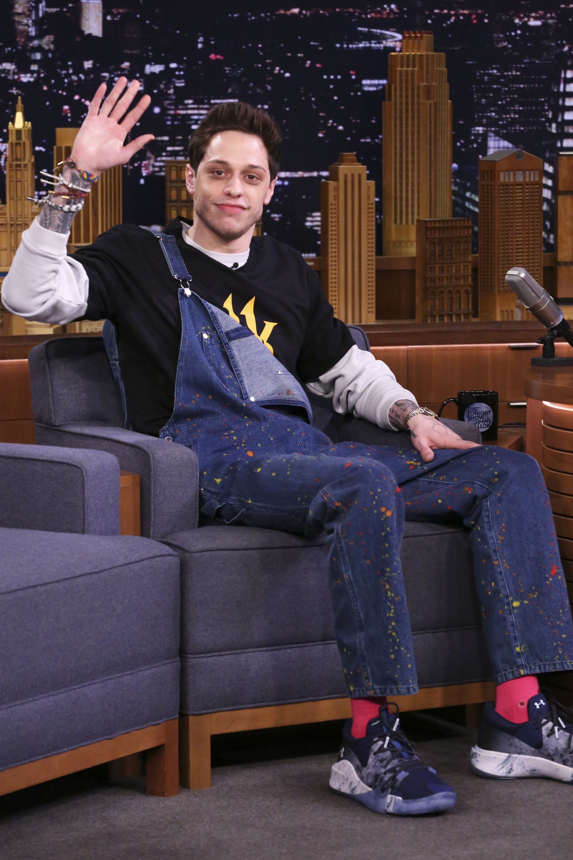 Pete Davidson Once Got Stuck Paying For Dinner With Kanye West And Kim Kardashian