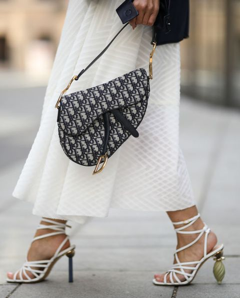 White, Clothing, Street fashion, Shoulder, Fashion, Footwear, Black-and-white, Snapshot, Dress, Outerwear,