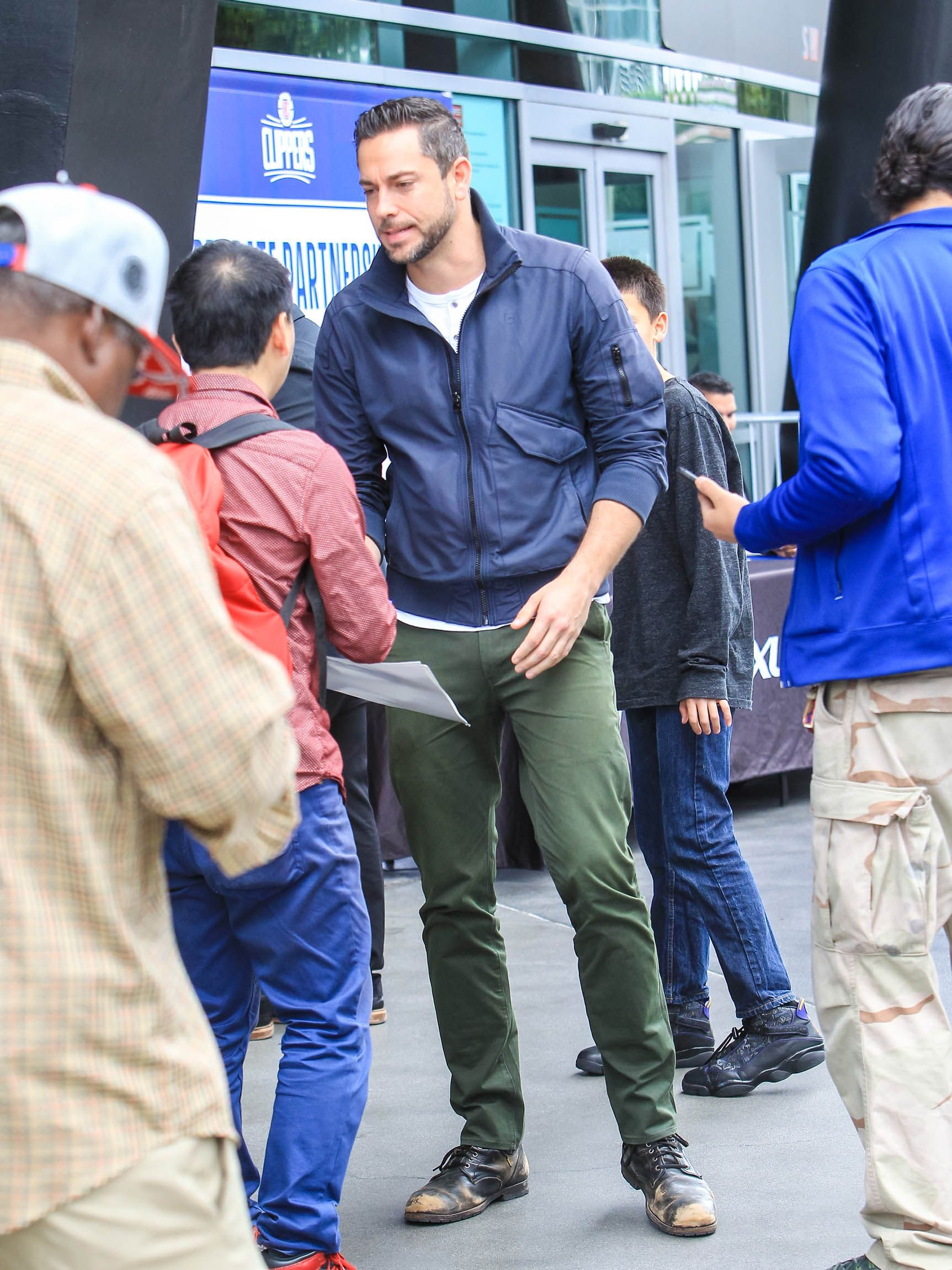 When Did Zachary Levi Become Such a Style Superhero?