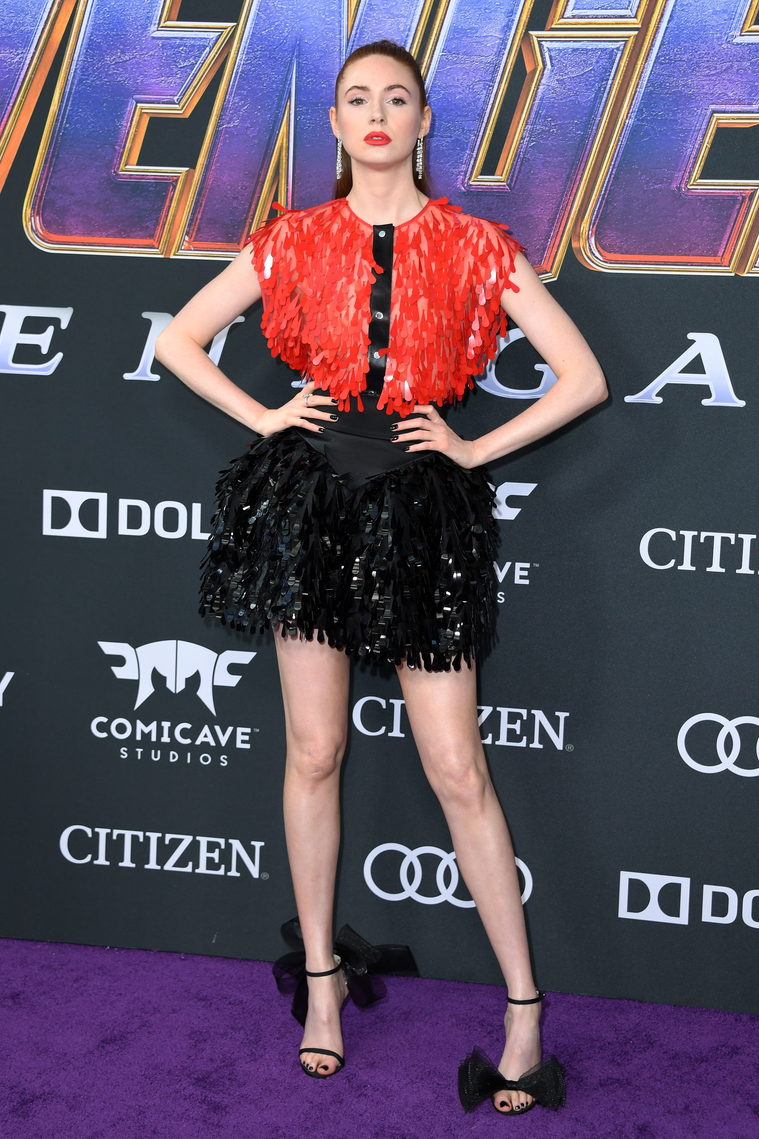Karen Gillan In Christopher Kane.