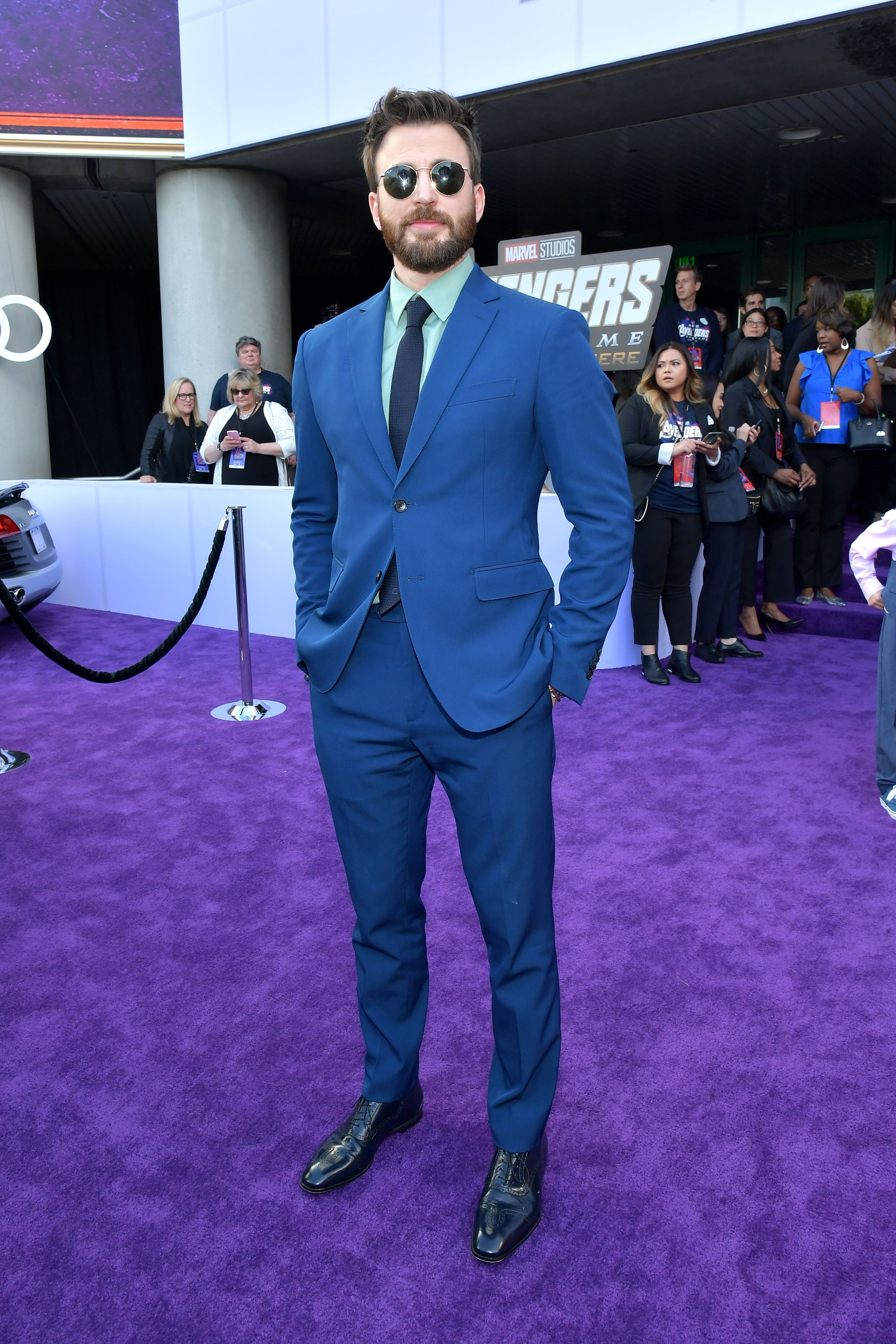How Chris Evans's Just-Bold-Enough Avengers Premiere Look Came Together